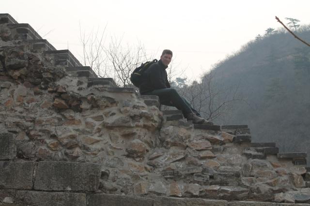 Mo on Wall at Huanghua