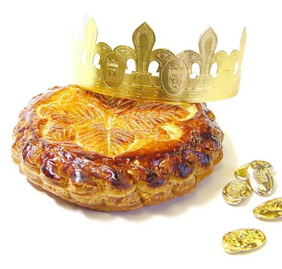 La galette, compete with couronne