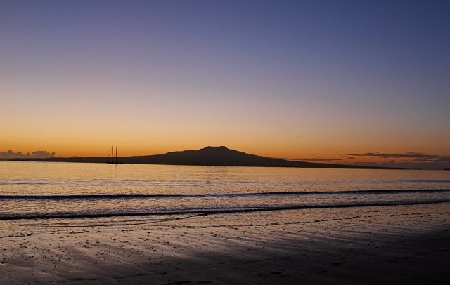 On Takapuna Beach....