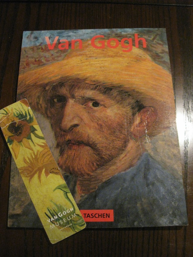 Vincent and prized bookmark