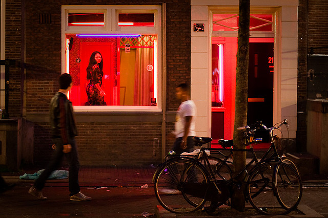 Red Lights in Amsterdam