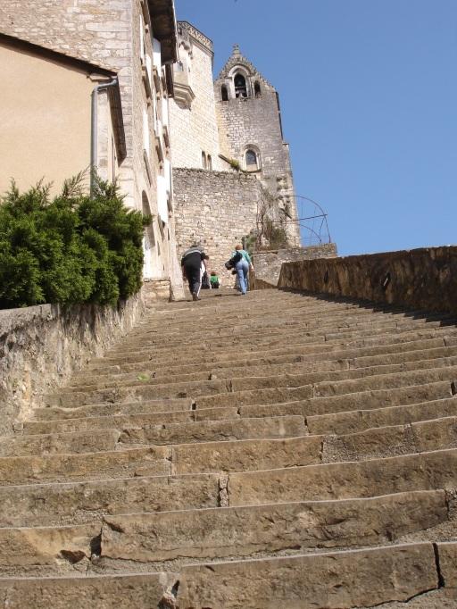 Rocamadour - Grand Escalier