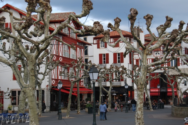 St-Jean-de-Luz and Plane Trees