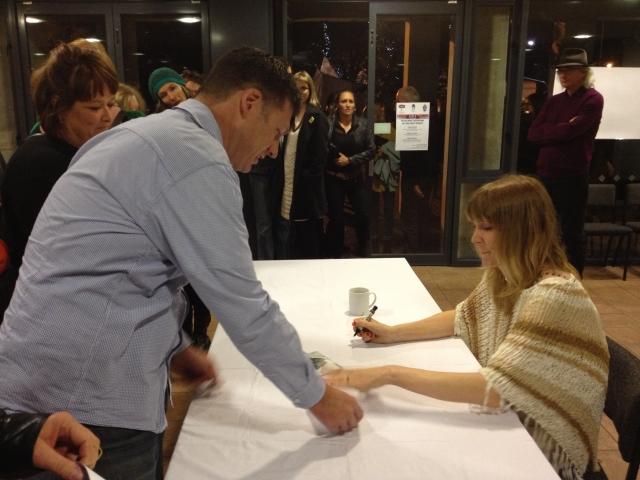 Briefly meeting Beth - 18 May 2013