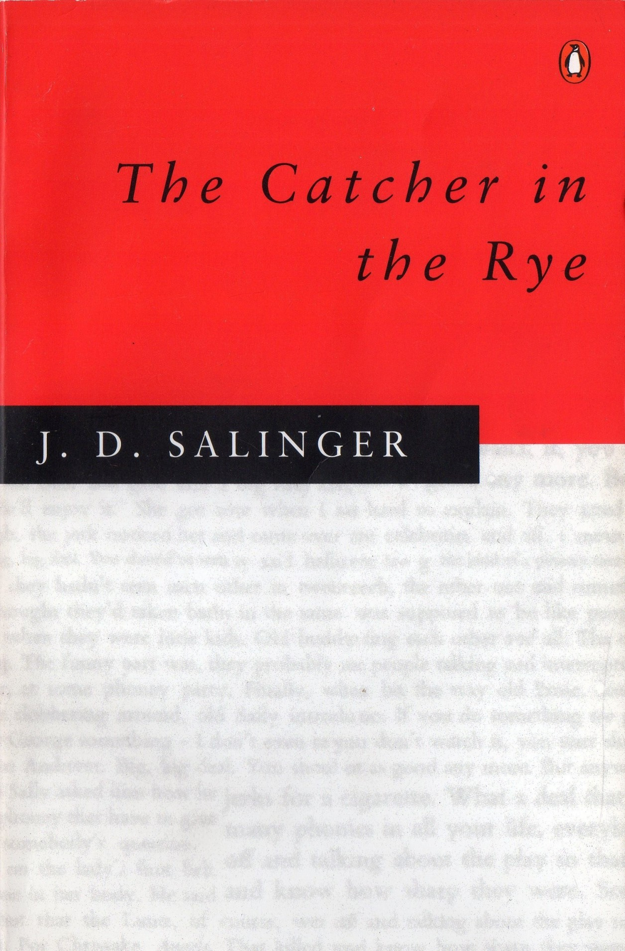 the holden and modern teenagers in the catcher in the rye a novel by j d salinger Also, salinger wanted to be a writer and go to hollywood, just as holden's brother db we could say, holden acts as a reflection of jd's younger self this book's audience relies on teenagers, since the novel has a teenage protagonist some thesis arrive to the conclusion that everyone needs to read the catcher in the rye or a similar story to become psychologically mature.