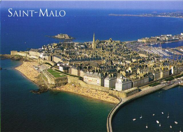 St Malo in summer