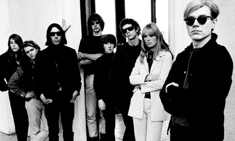 Andy Warhol with the Velvet Undergound and friends in happier times