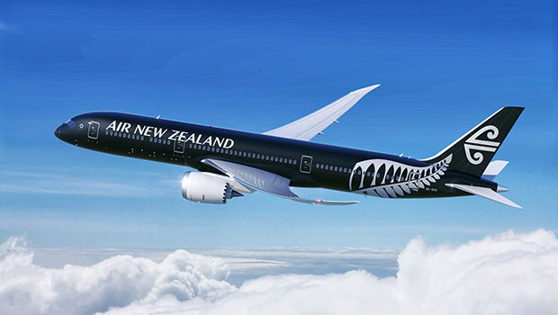 Air New Zealand - we get one of the new black ones!