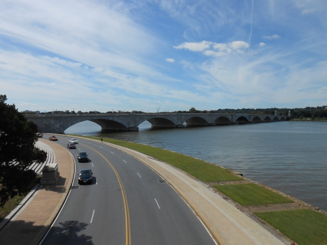 Tom Bradley Memorial Bridge - to Arlington