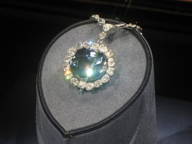 The Hope Diamond, valued at US$220 million!