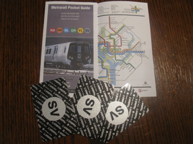 Have SmarTrip cards, will travel