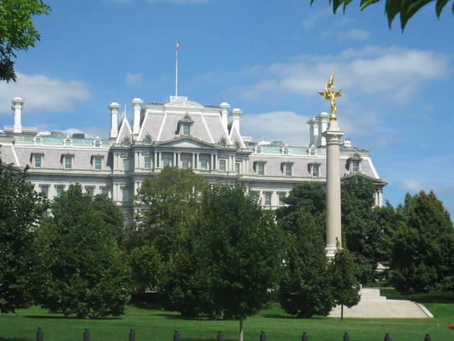 Eisenhower Executive Office Building (EEOB). Mark Twain wasn't a fan.